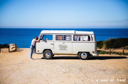 Le Roadtrip d'Émilie en vieux combi WV dans le Sud du Portugal