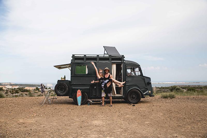Mirte et Sébastien, deux digital nomads sur les routes d'Europe