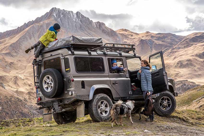Les bivouacs & aventures d'une famille en Land Rover Defender aménagé