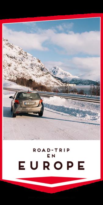road trip europe pin