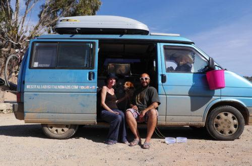 Mélony et Armando vivent dans leur Westfalia depuis 6 ans