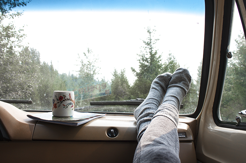 lessive linge road trip