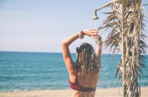 Petit guide pratique de la douche, pour se laver en Road trip