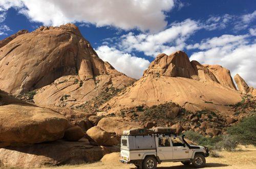 Road trip en famille en Namibie à la découverte d'une nature sauvage