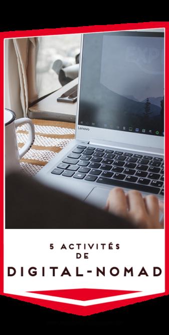 activites digital nomad