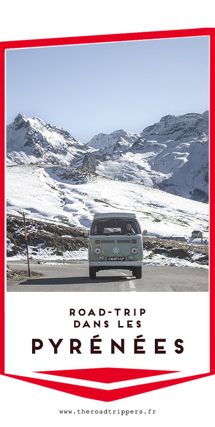 road trip pyrenees combi vw