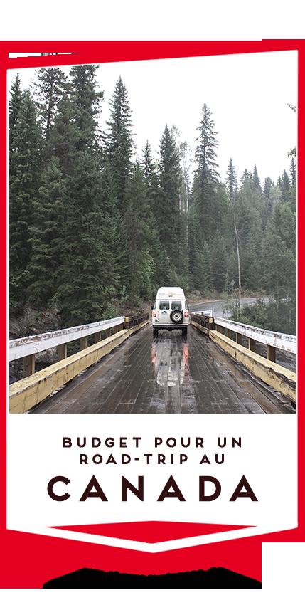 budget roadtrip au canada