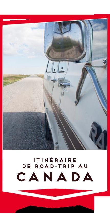 itineraire road trip canada