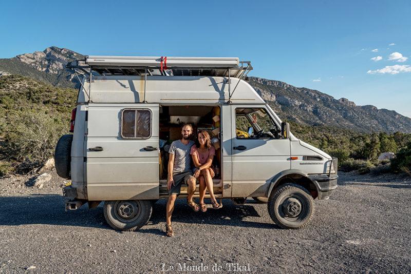 Dana & Stéphane quittent tout pour un road-trip en van le long de la Panaméricaine