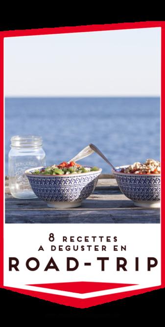 recettes en van en road trip