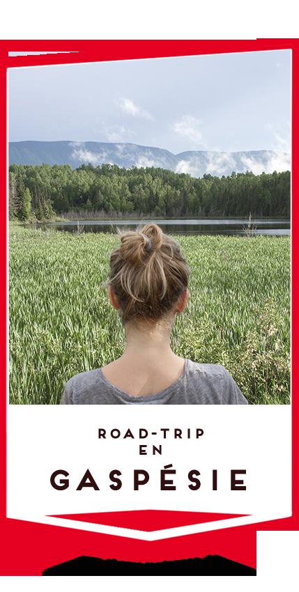 road-trip en gaspésie