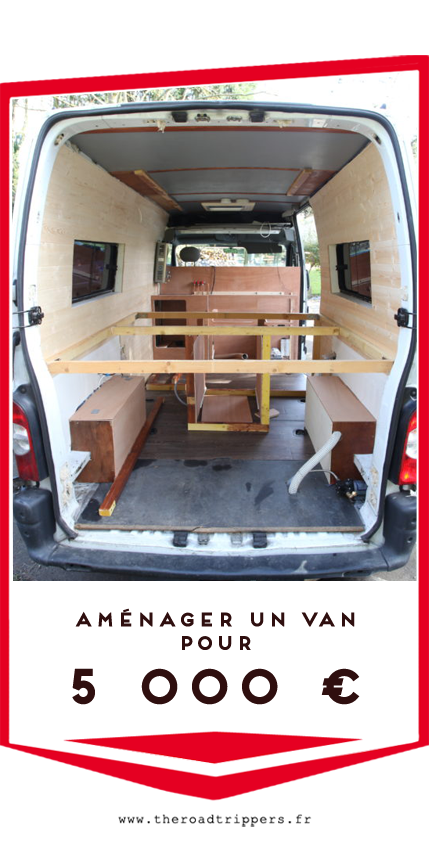 aménager un van pour 5000 €