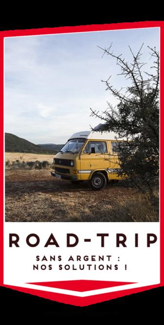 faire un road trip sans argent