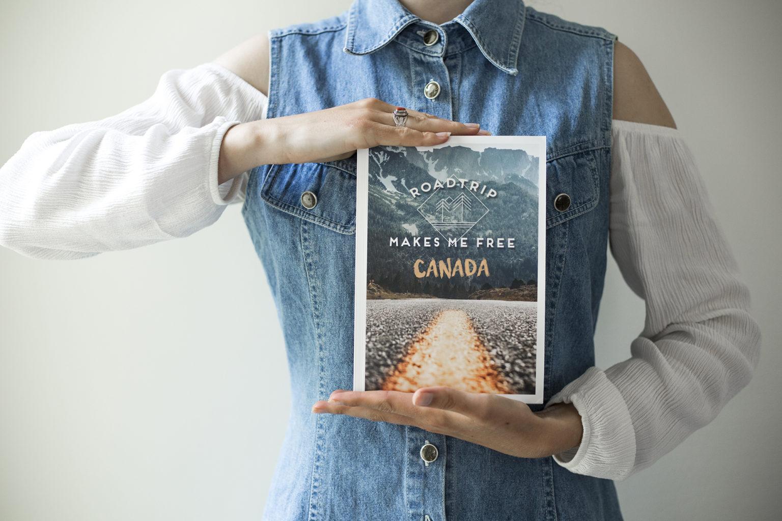 Projet d'édition : Guide & Récit de roadtrip au Canada