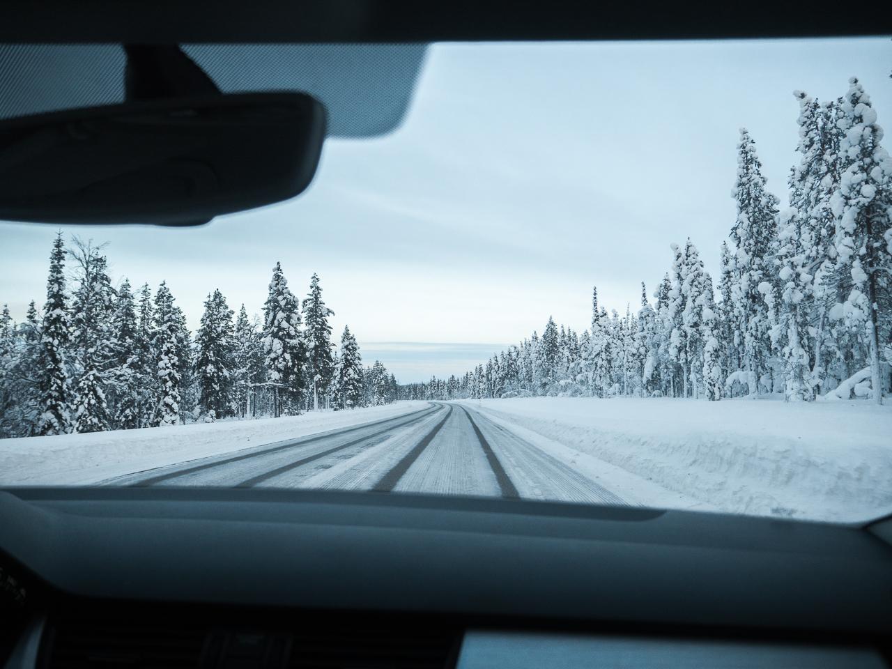 8 jours de road trip en Laponie en hiver
