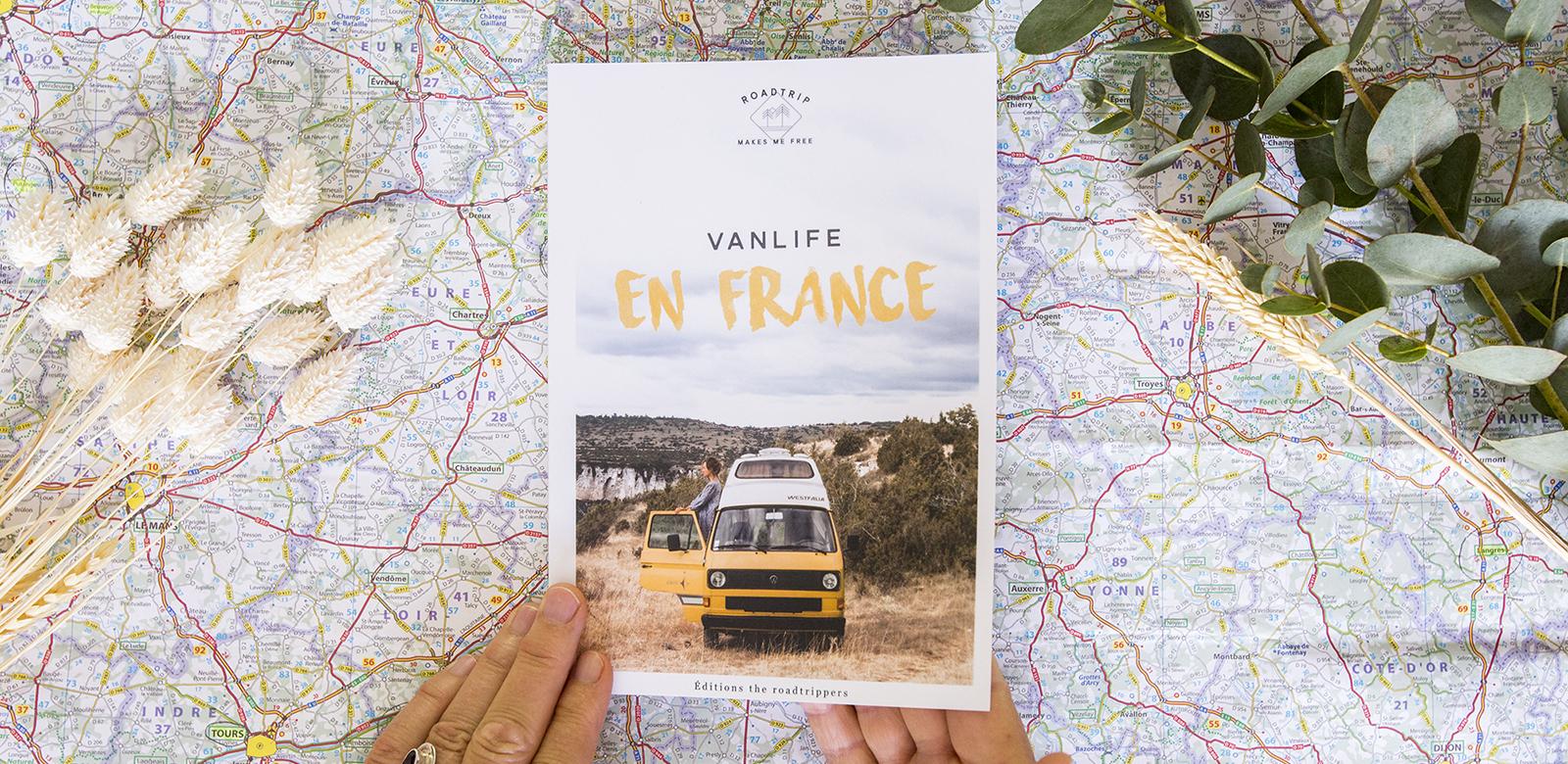 Notre projet d'auto-édition n°2 – Vanlife en France