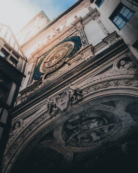 La Gros Horloge à Rouen