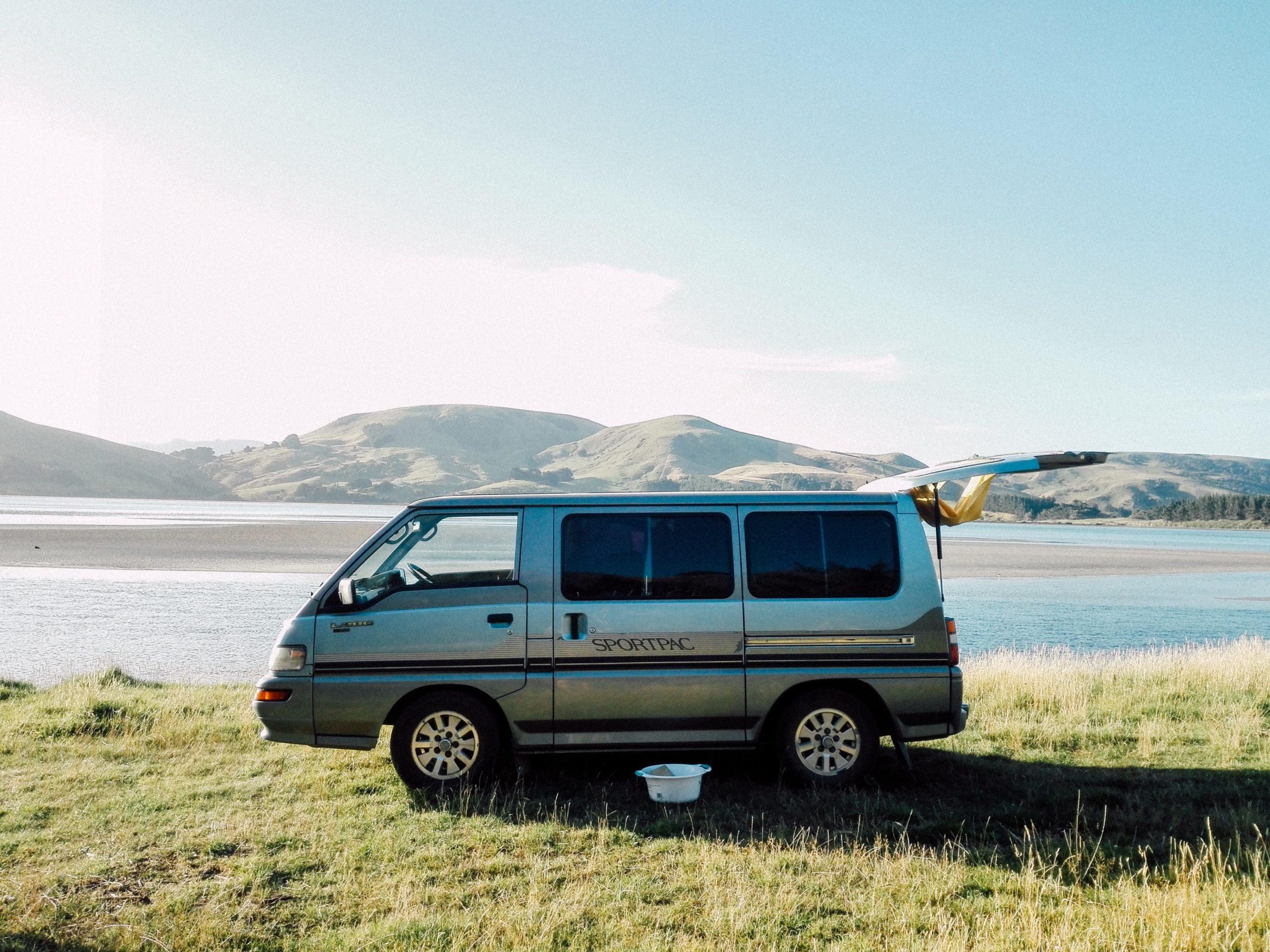 roadtrip route fromages van