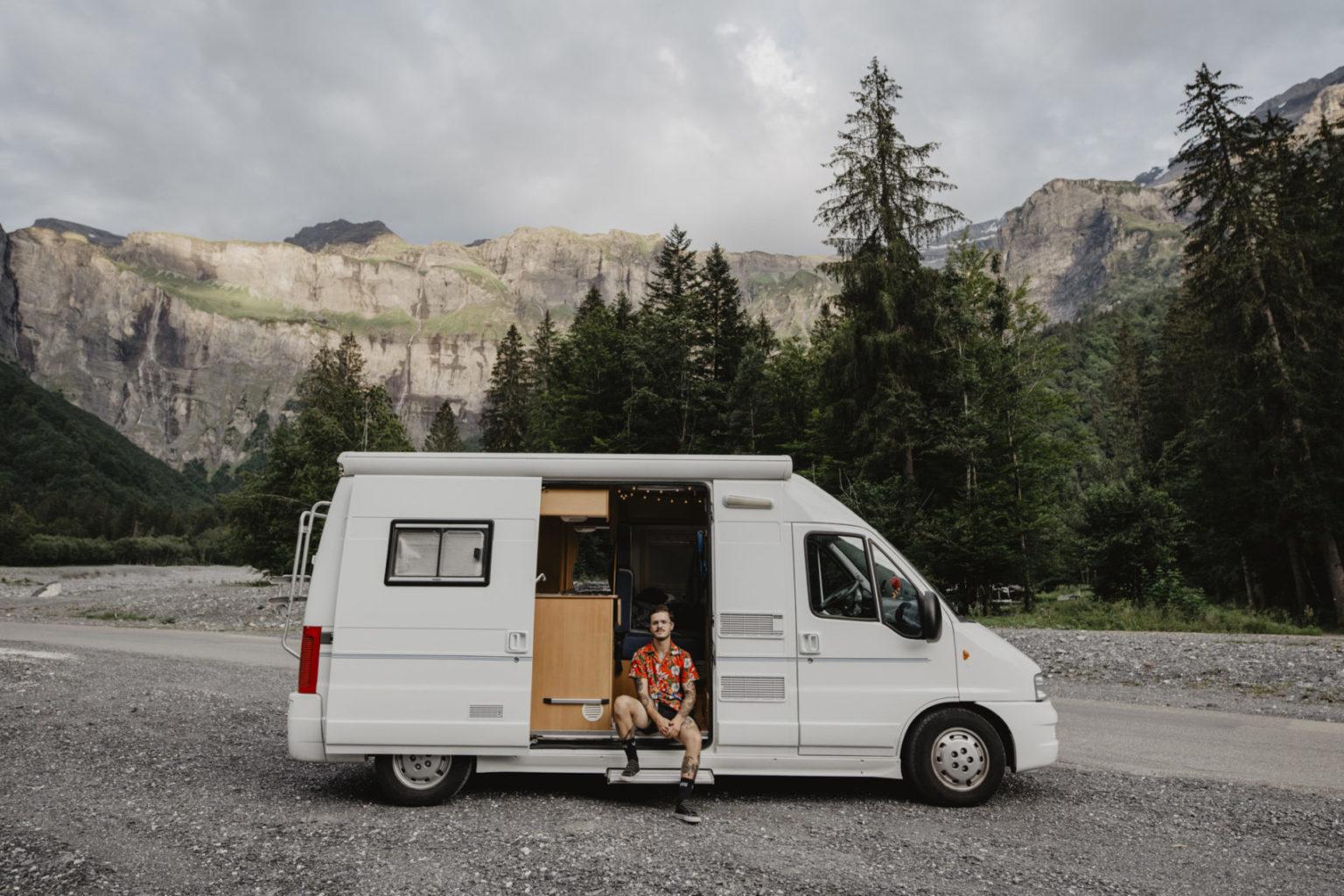 Enzo – vanlifer & photographe en studio nomade