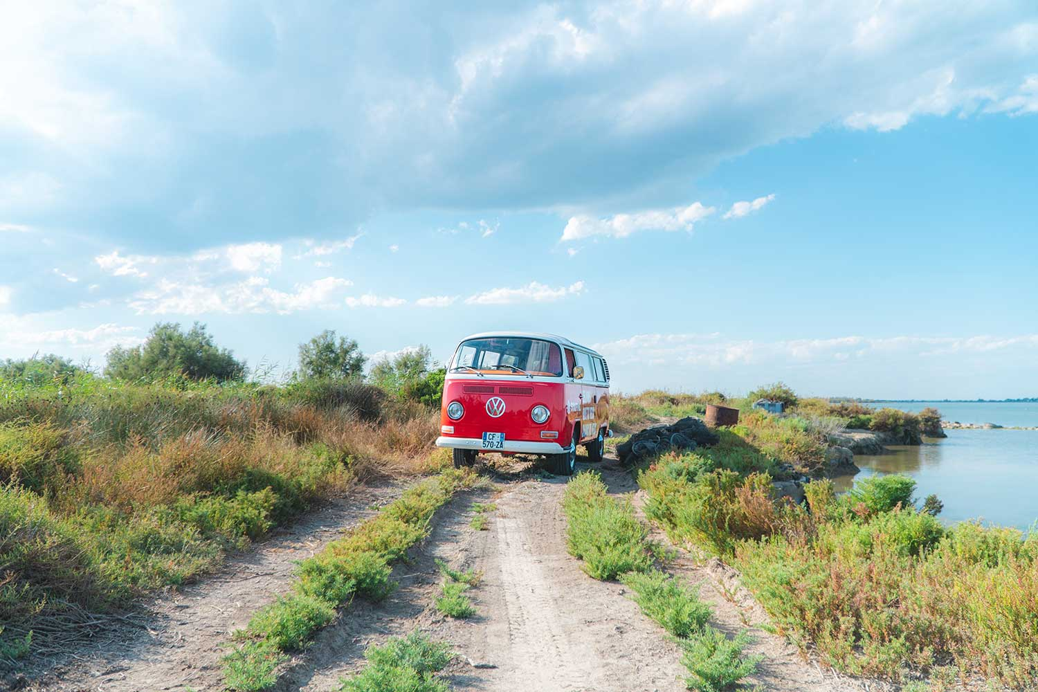 Roadtrip en France en Combi VW T2 avec StaffMe