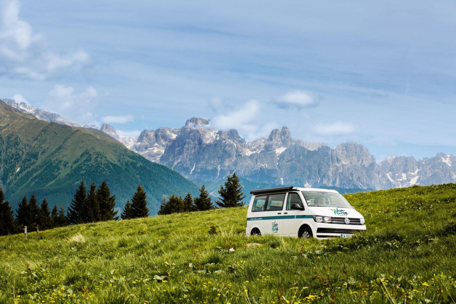 Location d'un Van Volkswagen auprès de l'agence Van-Away